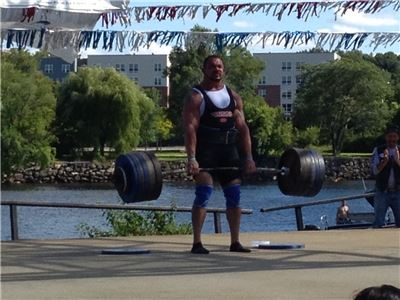 Kevin Nee, 3rd strongest man in the world